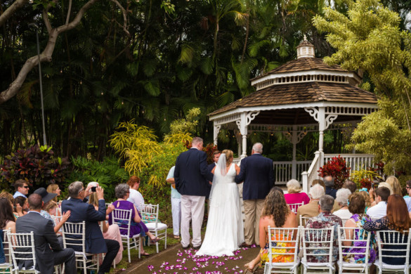 Maui wedding gazebo