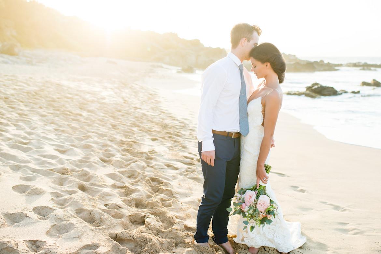 Maui elopement at Ironwoods Beach
