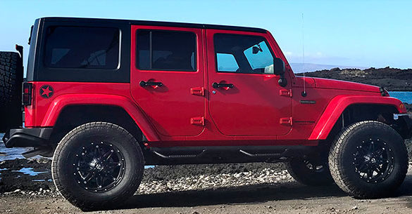 Maui Lifted Jeep Rentals